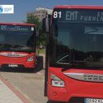 Concurso de 220.378 euros para explotación del espacio publicitario exterior de autobuses Municipales de Fuenlabrada