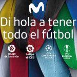 """Movistar estrena su campaña  """"di hola a todo el fútbol"""""""