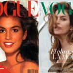Cindy Crawford vuelve a protagonizar la portada de Vogue España, 30 años después