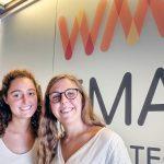María Tió Trallero y de Chiara Valentino,Account Executives de Wavemaker Barcelona