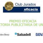 Banco Sabadell, BBVA y Mercedes-Benz finalistas a trayectoria publicitaria de marca de Club de Jurados