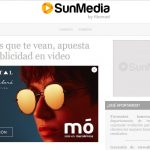 Vídeo Reminder, nuevo formato publicitario de SunMedia con publicidad online 100% visible.
