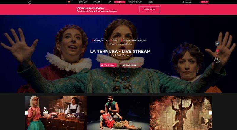 Alltheater refuerza su apuesta por los 'Live Stream' desde este jueves con /Drygital