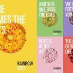 AMT Comunicación diseña la campaña de lanzamiento de Rainbow Dots para Europastry