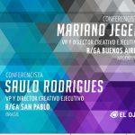 #ElOjo2018 presenta a Saulo Rodrigues y Mariano Jeger como ponentes