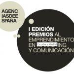 """I Edición de """"Premios al Emprendimiento en Márketing y Comunicación"""", de Agencias de España."""
