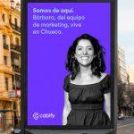 Los empleados de Cabify se convierten en protagonistas de la nueva campaña de marca en Madrid