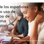 Casi 1 de cada 4 españoles ha utilizado alguna vez una plataforma colaborativa