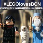 LEGO presenta oficialmente su primera tienda física en Barcelona.