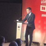 UTECA celebra su XX aniversario con Pedro Sánchez que ofrece un nuevo Plan Técnico Nacional