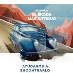 ŠKODA busca el modelo más antiguo de la marca en España en su última campaña