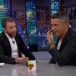 La emisión más vista del lunes  fue El Hormiguero 3.0,A3,  con Alejandro Sanz, con 3 millones de espectadores y 16%