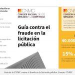 ¿Fraude en la licitación pública? La CNMC lanza una campaña para su detección