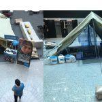 Unicef instala un campo de refugiados en Publicis Media en Madrid