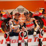 Tangoº crea una carrera entre pasado, presente  y futuro de MotoGP para la presentación del Repsol Honda Team 2019.