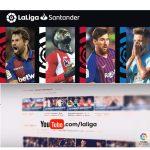 LaLiga 1l2l3 se emitirá a través de YouTube en más de 150 países en todo el mundo