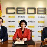 Samsung colaborará en promover vocaciones STEAM entre alumnado femenino