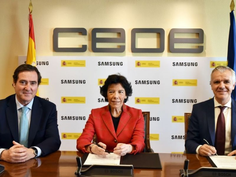 Samsung colaborará en el desarrollo de un proyecto para promover las vocaciones STEAM y el acceso a estudios de Formación Profesional entre el alumnado femenino.