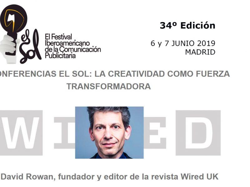 ROWAN, WIRED, EL SOL, 2019, 34 EDICION, debate atresmedia, programapublicidad, muy grande