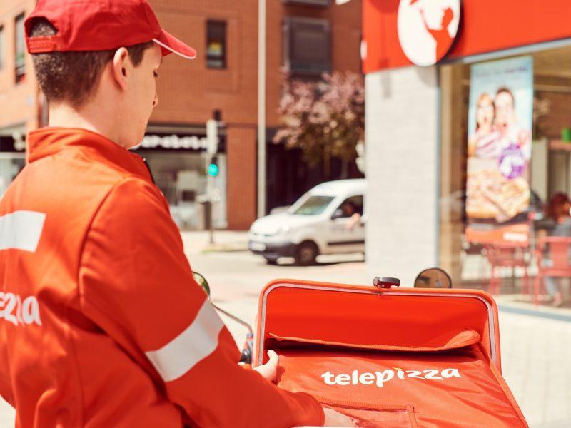 Telepizza ,entrega ,2.244 Telepizzas, Solidarias, programapublicidad, nde