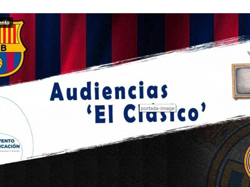 audiencias, el clasico, barlovento, Real Madrid, Barcelona, programapublicidad,