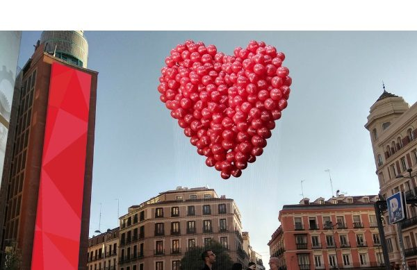 #AmorAmor, #Cacharel, #AugmentedLove, #amoramorbycacharel, #SanValentin, #diadelosenamorados, @amoramor, globos, perfume, Amor Amor , Cacharel,callao,