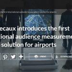 JCDecaux lanza la primera medición de audiencia internacional en aeropuertos