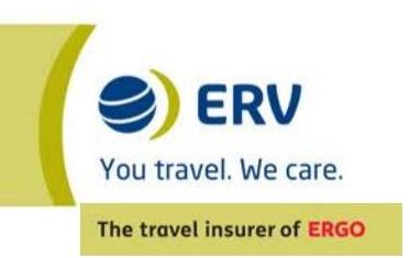 ERV cambia su marca a ERGO Seguros de Viaje ERV, compañía especialista en Seguros de Viaje, por ERGO Seguros de Viaje a partir del proximo mes de mayo.