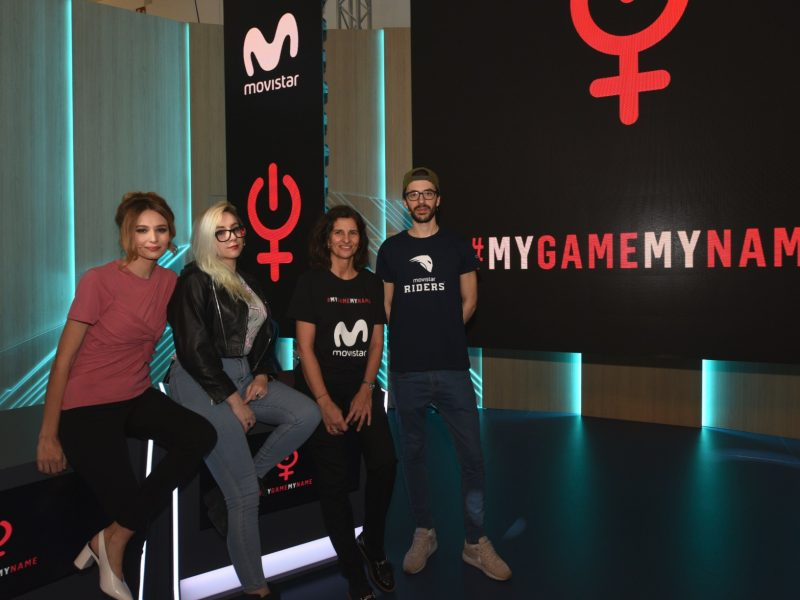 #MyGameMyName, movistar, machismo, programapublicidad,