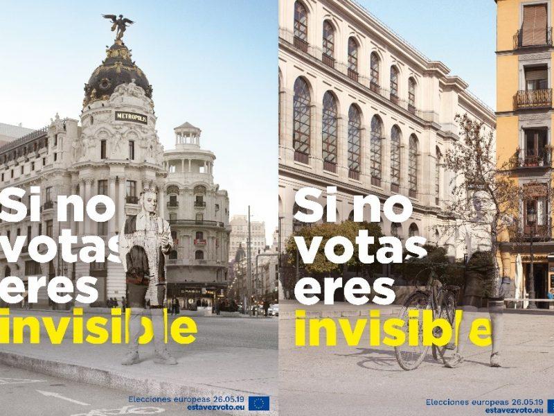 Parlamento Europeo, Elecciones Europeas, si no votas, programapublicidad, e