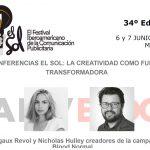 Conferencias El Sol: Creatividad transformadora, Margaux Revol y Nicholas Hulley