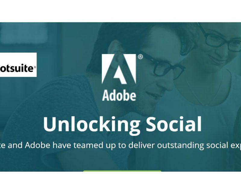 hootsuite, adobe, unlocking, programapublicidad,