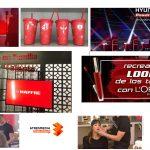 LA VOZ contenedor de publicidad especial con Coca Cola, Mapfre, Hyundai o L'Oréal.