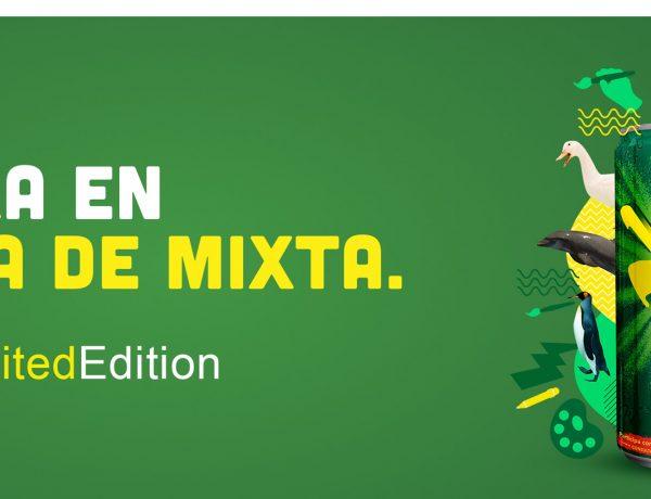 Mixta , ofrece , diseñar lata , consumidores, #MixtaLimitedEdition