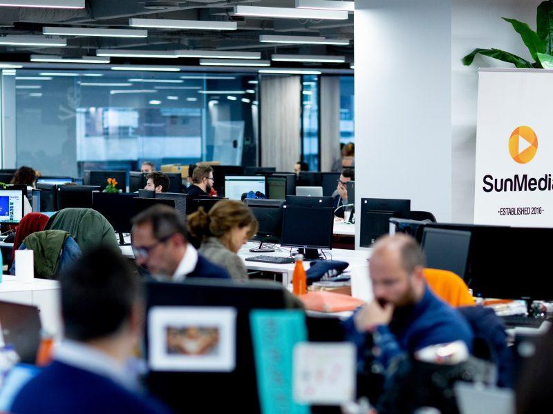 oficinas, sunmedia, programapublicidad