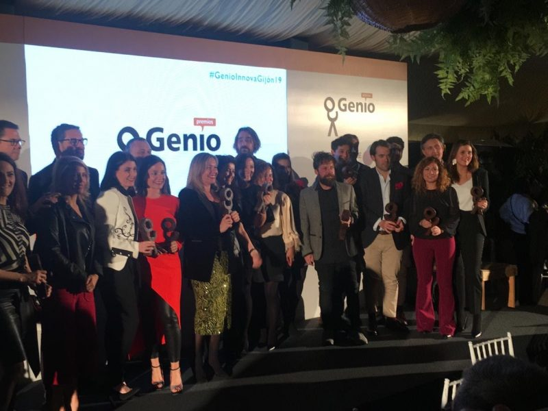 #GenioInnovaGijón19: Premiados Tanqueray, EDP, Caser, IKEA, ALDI, Toyota, BK, Ruavieja , BBVA