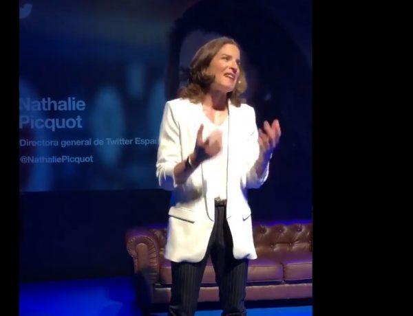 @NathaliePicquot , gesto, audiencia , twitter, #EmpiezaConEllos, #EmpiezaConEllos, @TwitterEspana, @edusotomoreno, @Twitter, programapublicidad,