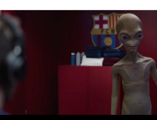 BARÇA, AUDI , alien, programapublicidad, muy grande