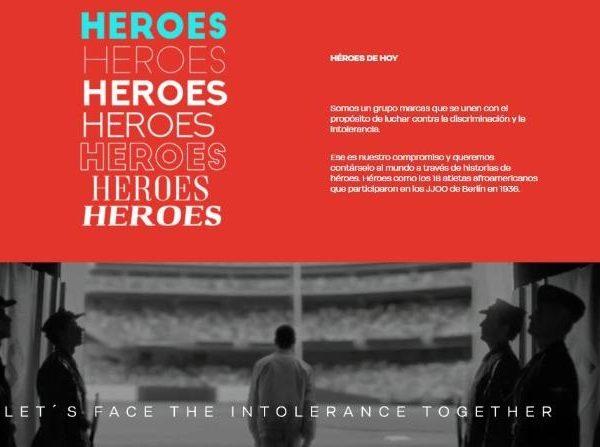 DDB, cartel, campaña , Héroes de Hoy , luchar ,contra discriminación ,intolerancia, programapublicidad,