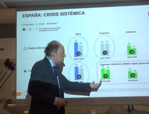 Jordi Ballera, Director General Adjunto Edelman Trust Barometer,españa, crisis sistemica, programapublicidad,