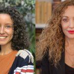 Julia García y Paloma Martínez a Darwin Social Noise