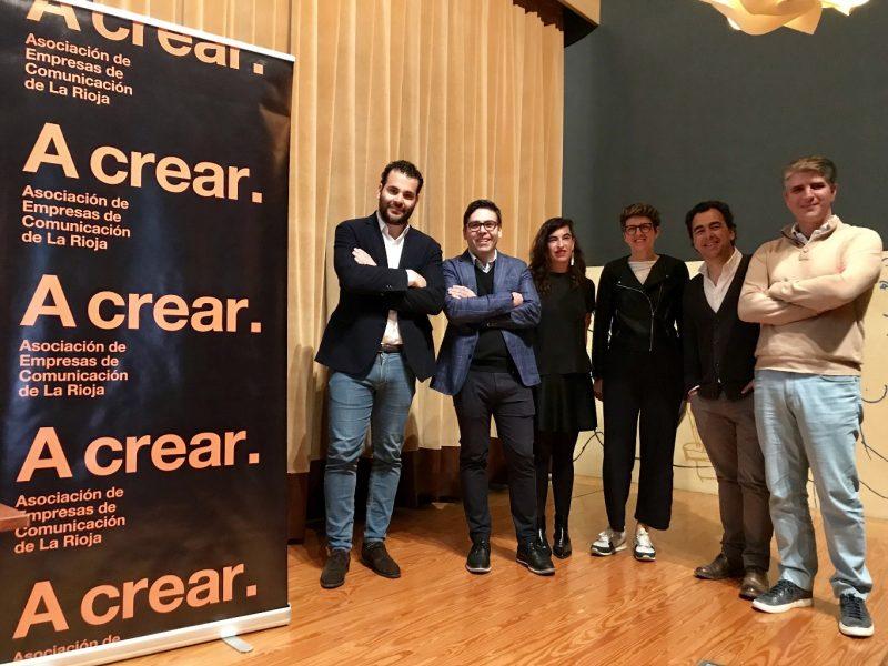 Marc Morillas, Ricardo Moreno, Mónica Yoldi, Esdir, Lola Zuazo , Álex Pallete , Emilio Ruiz, A crear,., programapublicidad,