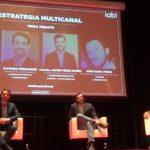 """Palma (Toyota) y Alfonso Fernández (Samsung)  #iabinspirational, """"la data sin creatividad no funciona""""."""