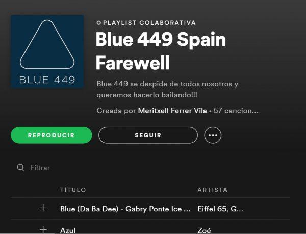 Publicis Media Integrará este lunes dos Redes Globales bajo la Marca Spark Foundry y despedirá Blue 449 con playlist Spotify, Blue 449 Spain Farewell