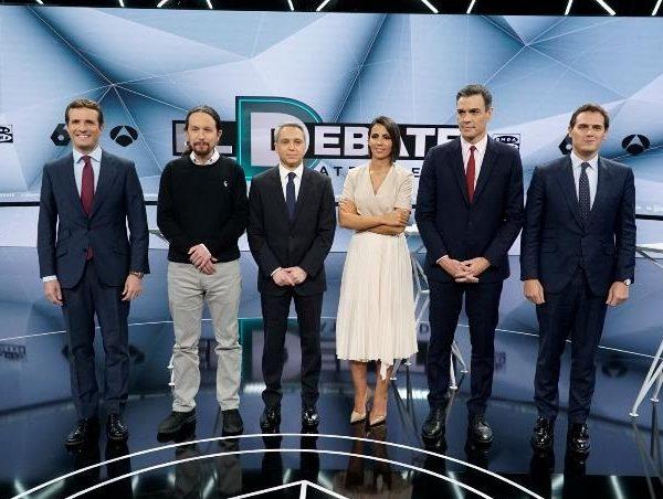 #eldebatedecisivo, debate, atresmedia, candidatos, programapublicidad,