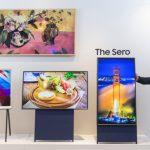 Samsung presenta televisor para ver verticalmente, dirigido a los Millennials