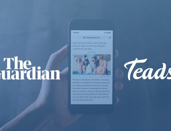 Acuerdo entre Teads y The Guardian
