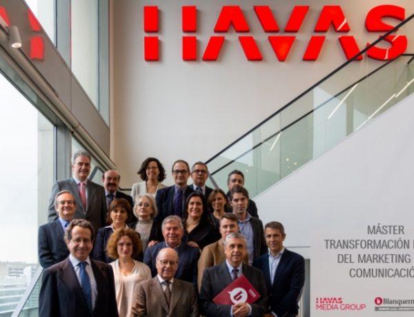 """Havas Media Group , Universitat ,Ramon Llull-Blanquerna, presentan , """"Máster, programapublicidad,"""