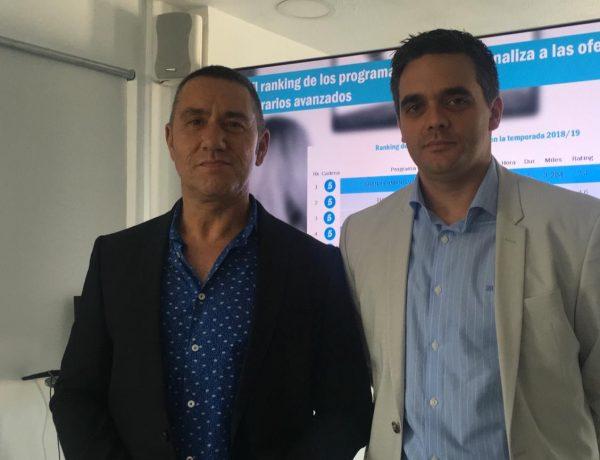 Jesús Sánchez Tena , Enrique Lozano, CEO , Director General de GECA., programapublicidad,