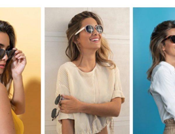 Una colección de gafas polarizadas con María durante todo el verano. La influencer, con 1 millón de seguidores en Instagram, es referente moda y lifestyle.